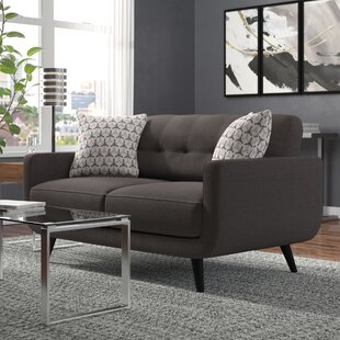Great choice Tifton Mid-Century Loveseat by Ivy Bronx Reviews (2019) & Buyer's Guide
