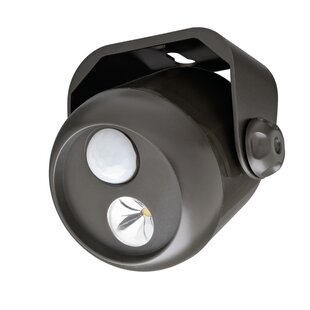LED Dusk to Dawn Battery Operated Outdoor Security Spot Light with Motion Sensor by Mr. Beams