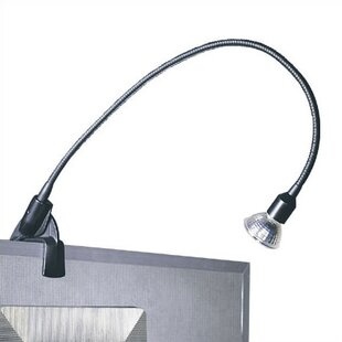 Deals Archable Arm 1-Light Frame Mounted Picture Light By WAC Lighting
