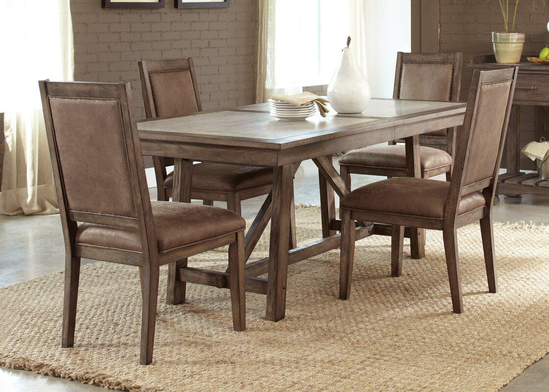Liberty Furniture Stone Brook Trestle Dining Table & Reviews   Wayfair