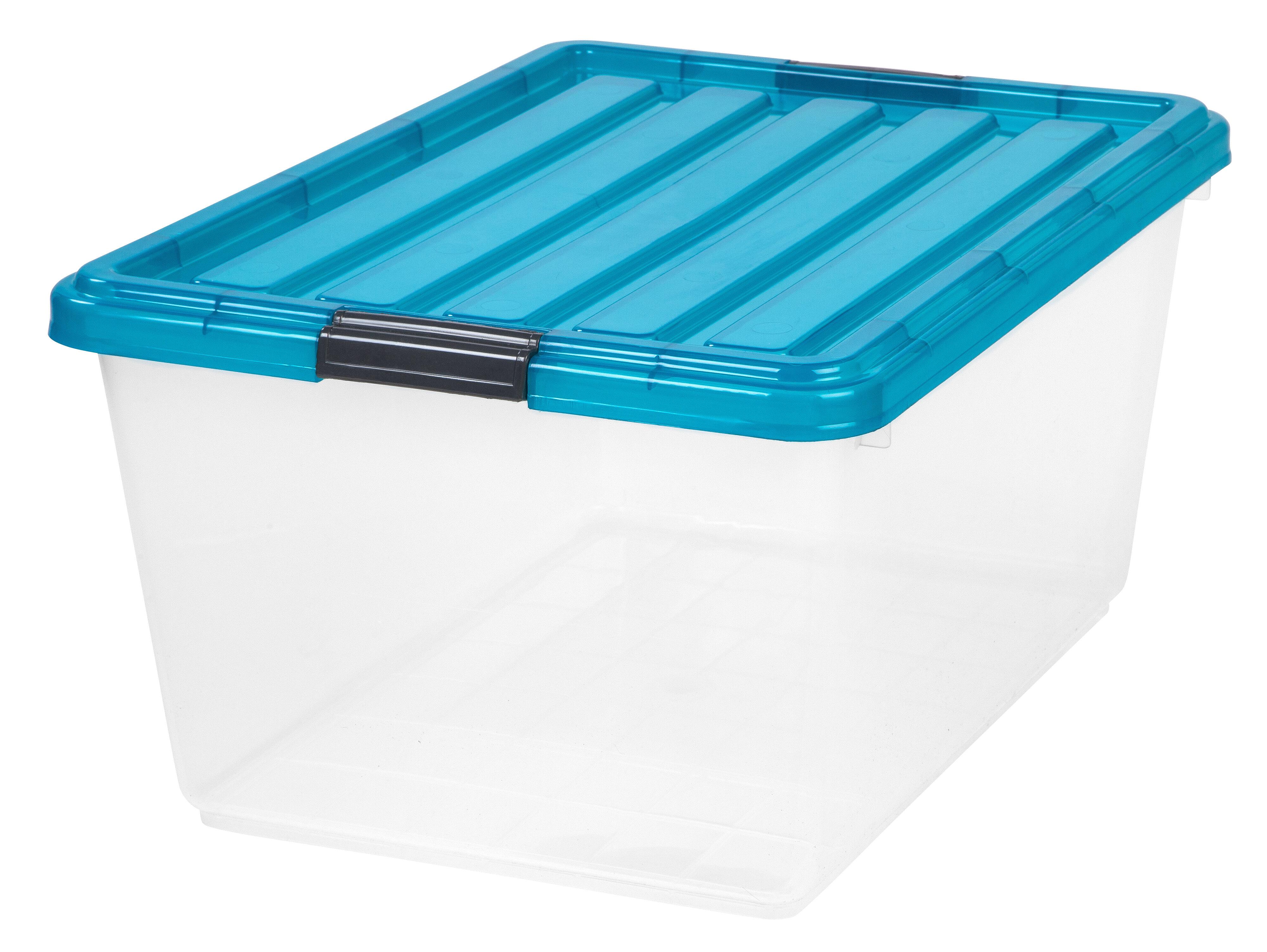 IRIS Buckle Down 44 qt Storage Box & Reviews | Wayfair