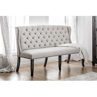 Teresa Upholstered Bench by Charlton Home