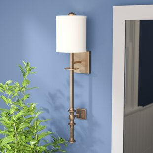 Great choice Amatrudo 1-Light Wall Sconce By Darby Home Co