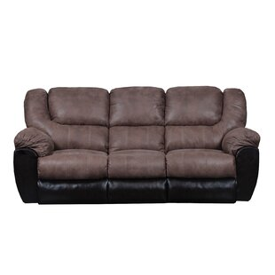 Simmons Upholstery Derosier Reclining Sofa by Darby Home Co Sale