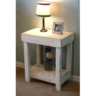 Billings Rustic End Table by August Grove