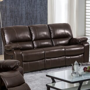 Koval Breathing Leather Reclining Sofa