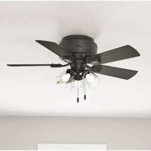 Flush Mount Led Ceiling Fan Wayfair