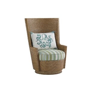 Tommy Bahama Home Twin Palms Swivel Armch..
