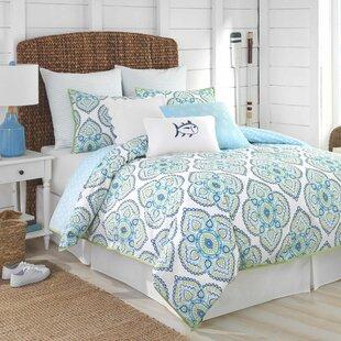 Summerville 100% Cotton Reversible Comforter Set by Southern Tide Modern