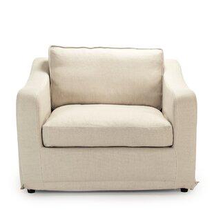 Camilla 1 Seater Loveseat by Zentique