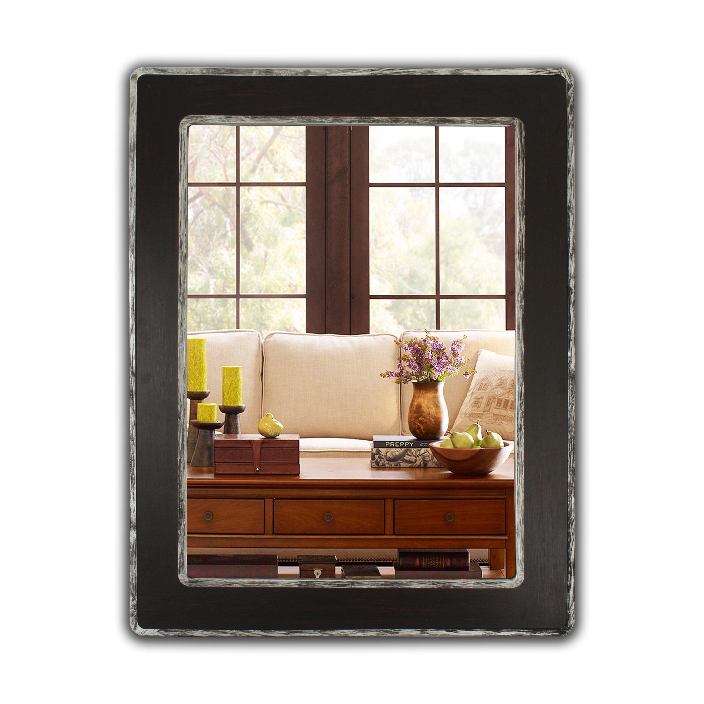 Gracie Oaks Hachiro Distressed Bathroom Vanity Mirror Wayfair