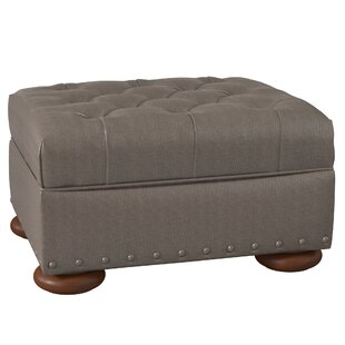 Leather Ottomans Youu0027ll Love | Wayfair