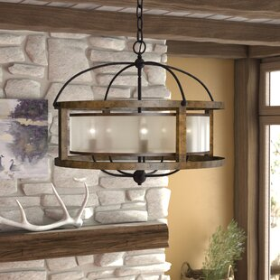 Loon Peak Bundoran 5-Light Drum Chandelier