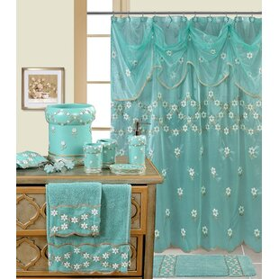Decorative Single Shower Curtain