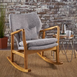 Brayden Studio Saum Fabric Rocking Chair