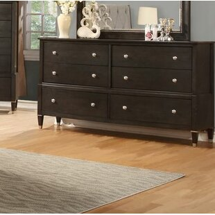 Dejuan 6 Drawer Double Dresser