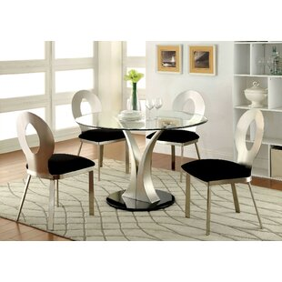 Orren Ellis Rush 5 Piece Dining Set
