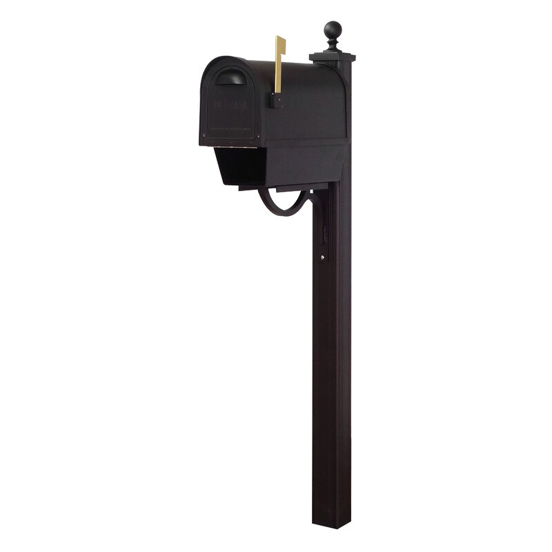 Special Lite Products Classic Mailbox With Post Included Wayfair