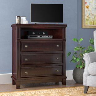 Wegman 3 Drawer Media Chest Astoria Grand