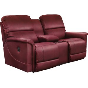 Oscar Reclining Loveseat with Console by La-Z-Boy