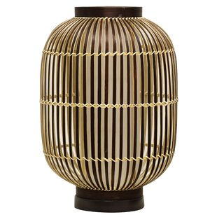 Tristin Asian Inspired Bamboo 27 Table Lamp