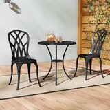Karns Aluminium 3 Piece Bistro Set