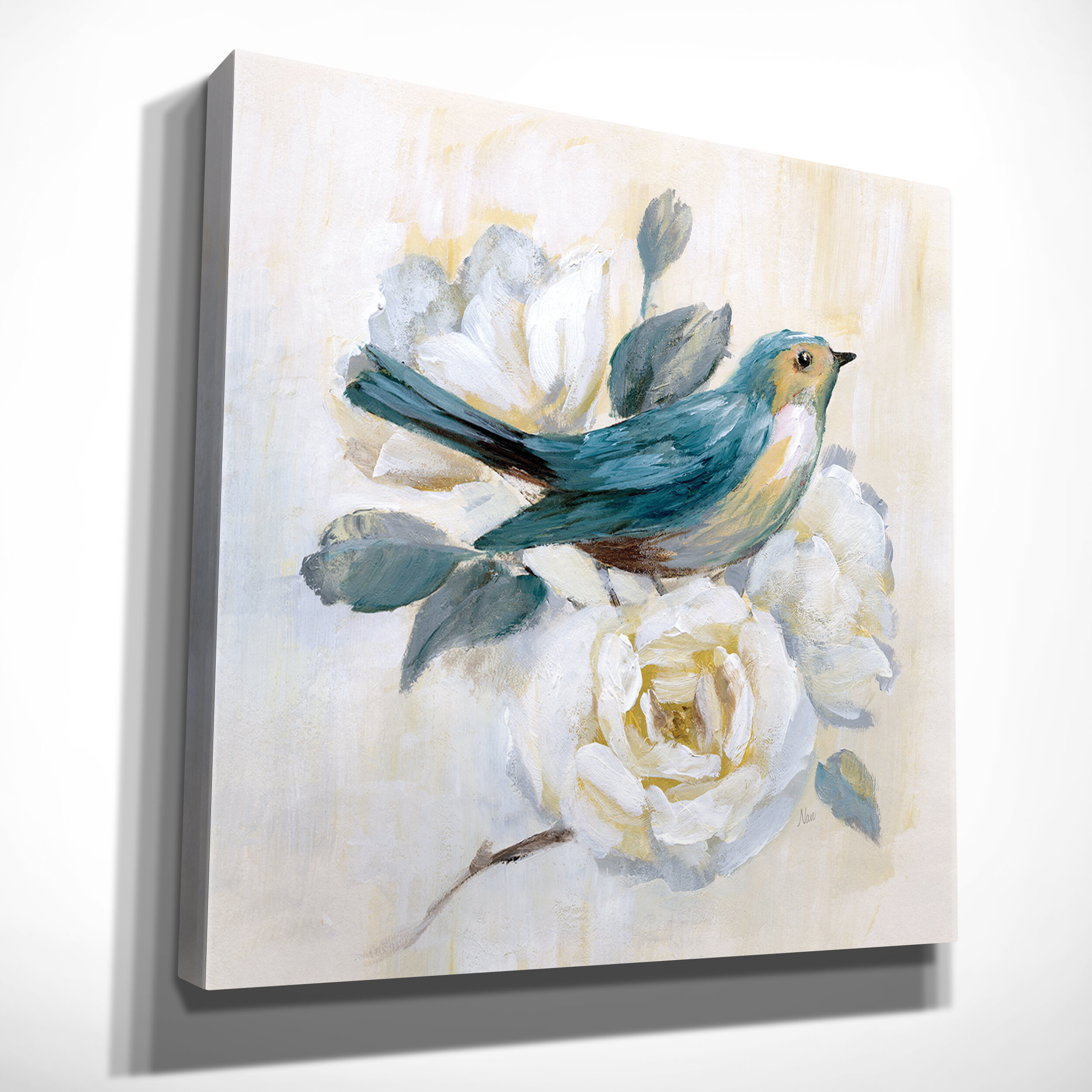Lark Manor Morning Song I Painting Print On Wrapped Canvas Reviews Wayfair