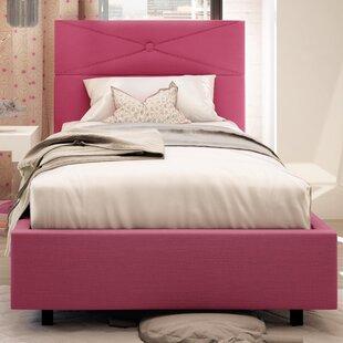 Amisco Diamond Upholstered Platform Bed