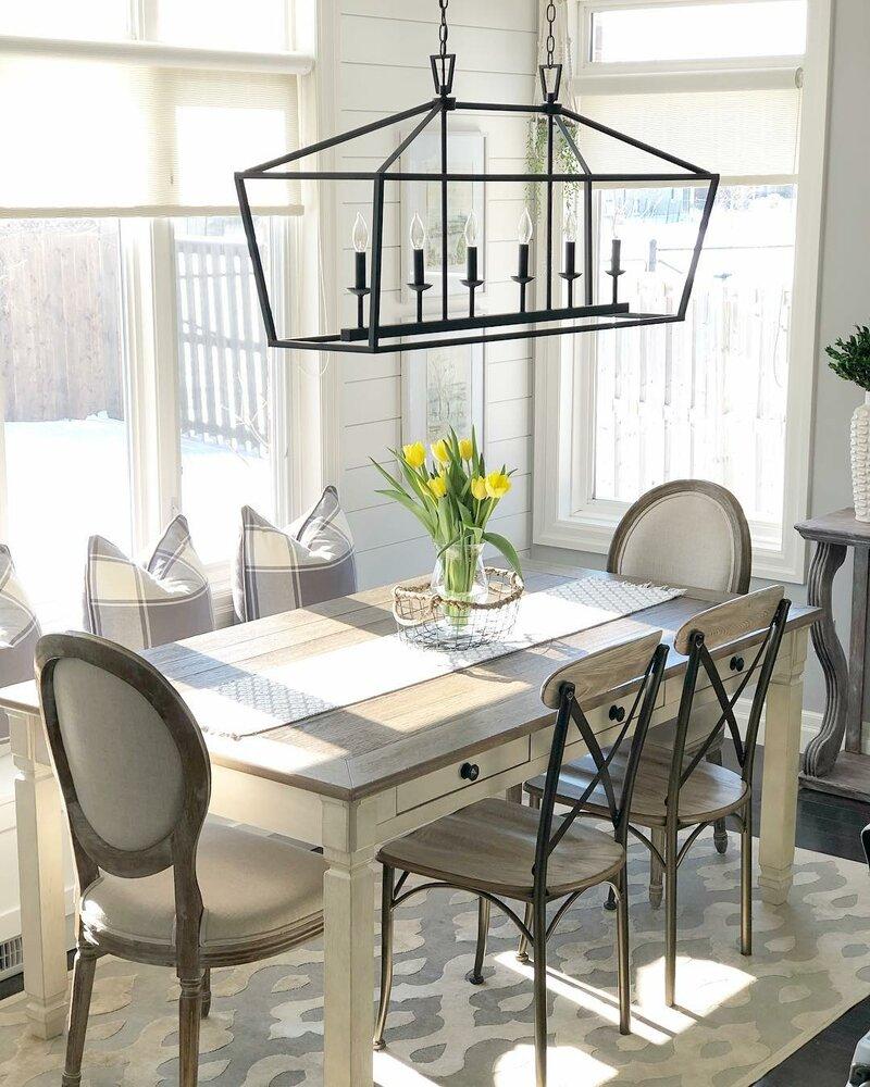 Laurel Foundry Modern Farmhouse Carmen 6 Light Kitchen Island Linear Pendant Reviews Wayfair