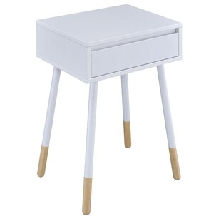 Backlund End Table With Storage