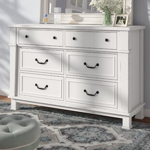 Check Prices Derwent 6 Drawer Dresser by Three Posts Reviews (2019) & Buyer's Guide