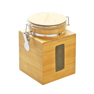 DaPur Bamboo Tight Canister Storage Jars
