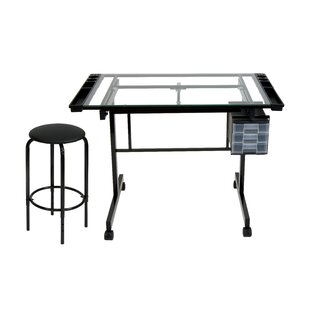 Vision Drafting Table and Stool