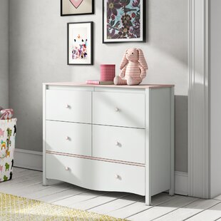Leilani 5 Drawer Dresser By Harriet Bee