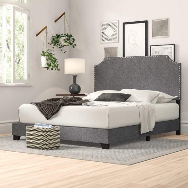 Zipcode Design Kyara Upholstered Standard Queen Bed (several colors)
