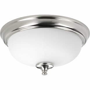 Winston Porter Bolles 1-Light LED Flush Mount