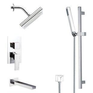 Remer by Nameek's Galiano Pressure Balance Tub and Shower Faucet