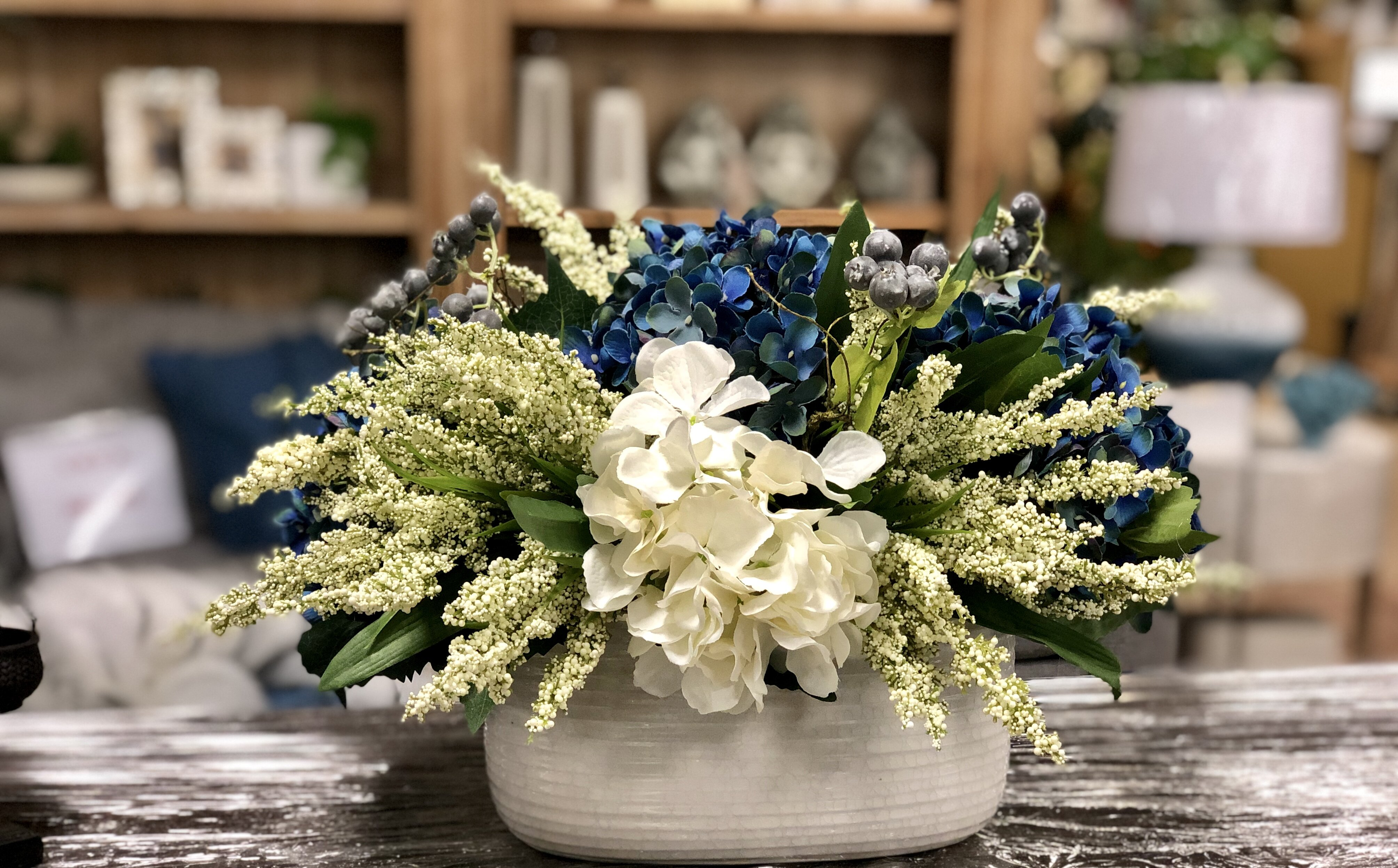Hydrangeas Floral Arrangements In Pot Reviews Joss Main