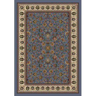 Affordable Gleason Persian Palace Lapis Area Rug By August Grove