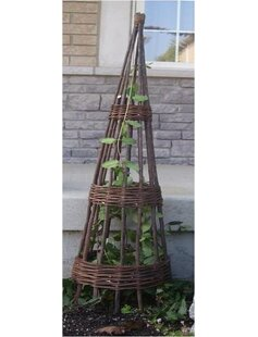 Mr. MJs Willow Wood Obelisk Trellis