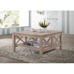 Saleh Wooden Modern Coffee Table with Storage