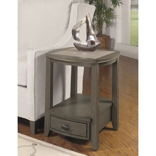 Compare Dunhill End Table with Storage by Breakwater Bay