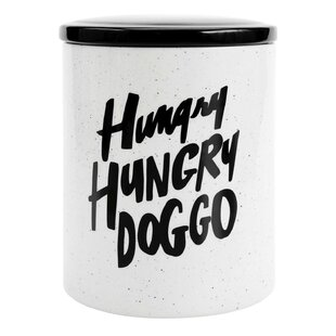 Doggo 2.6 qt. Pet Treat Jar