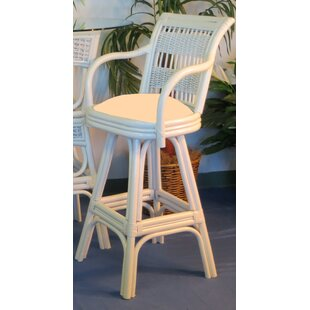 Regatta 24 Swivel Bar Stool Spice Islands Wicker