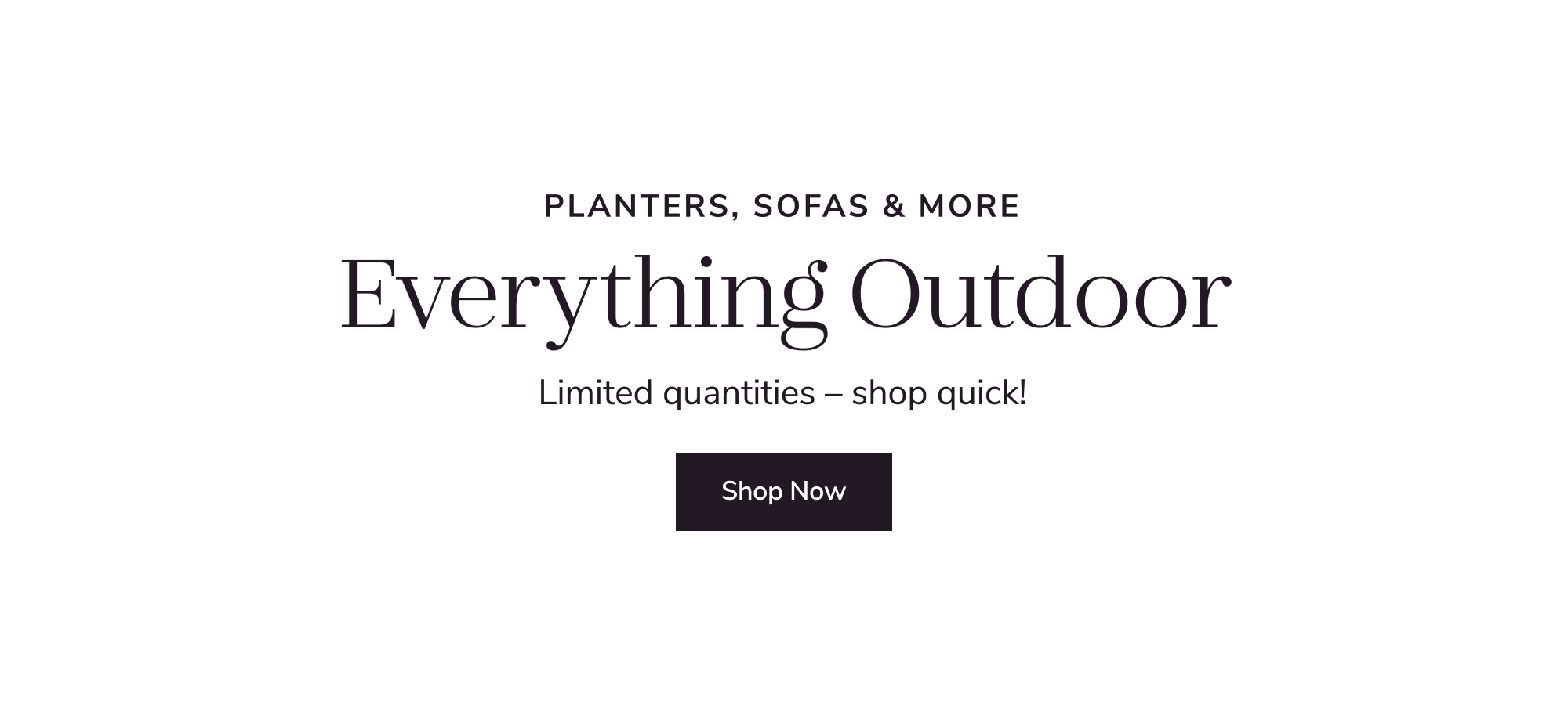 Everything Outdoor