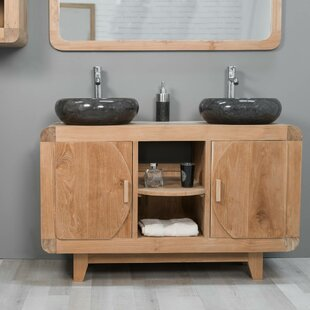 Lydd 120mm Free-standing Double Vanity Unit By Bay Isle Home
