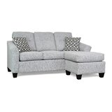 Samuel 81.5 Right Hand Facing Sectional by Canora Grey