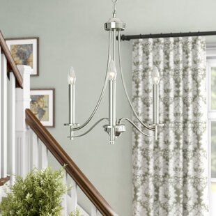 Naugatuck 3-Light Candle Style Chandelier by Alcott Hill