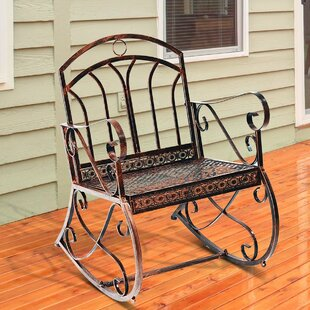 Vintage Style Rocking Chair By Lily Manor
