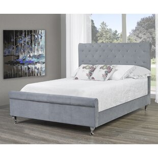 Compare prices Lunde Queen Upholstered Platform Bed by House of Hampton Reviews (2019) & Buyer's Guide